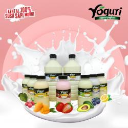 Yoguri Yoghurt Plain dan Aneka